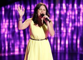 'the voice' blind auditions night 6: 'ring of fire' gets valerie ponzio four-chair turn