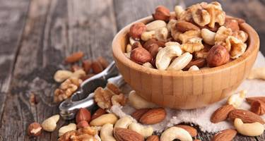 Handful of nuts a day helps in weight loss and also cuts down the risk of cancer