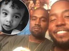 kanye west's cousin ricky anderson loses his son