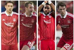 the aberdeen stars whose contracts are nearly up but what does their future hold?