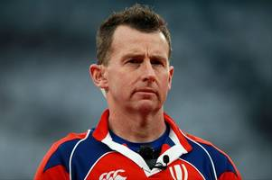 welsh rugby referee nigel owens and rugby star sam davies on evening post awards shortlist