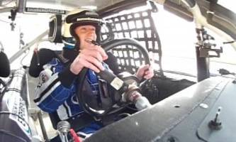 Mark Zuckerberg Experiences NASCAR Thrills, Dale Jr. Scares Him
