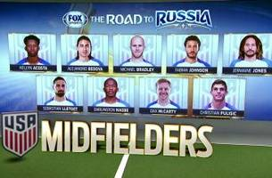 bruce arena reveals his usmnt roster ahead of world cup qualifiers | fox soccer