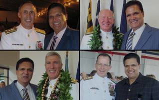 rotating carousel of prostitutes for defense contracts; 9 navy officers charged in bribery scandal