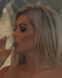 nicola mclean showcases cleavage in plunging bridal gown as she plans wedding no 3