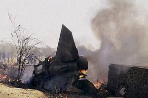 iaf's sukhoi-30mki fighter plane crashes in rajasthan's barmer