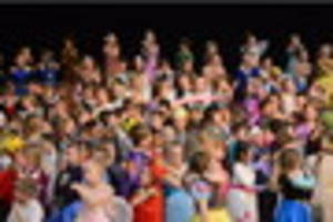 More children take part in day two of the KS1 Singing Festival -...