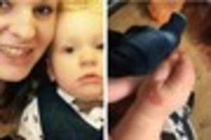 Chard mum speaks out after 16 month-old son suffers 'life-changin...