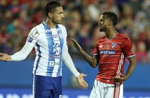 fc dallas edges pachuca on acosta's golazo in first leg of ccl semifinals