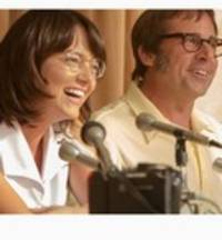 battle of the sexes - cast: emma stone, steve carell, sarah silverman, andrea riseborough, eric christian olsen, elisabeth shue, austin stowell, alan cumming, natalie morales, jessica mcnamee, james mackay
