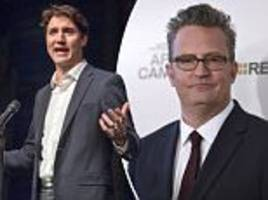 matthew perry says he beat up justin trudeau in canada