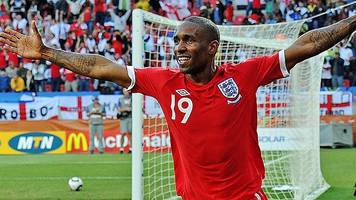 England squad announcement: Jermain Defoe scores for England v Slovenia at 2010 World Cup