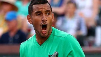 indian wells: nick kyrgios beats novak djokovic for second time in a row