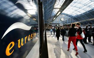 eurostar hit by £25m loss but says us travel lift will get it back on track