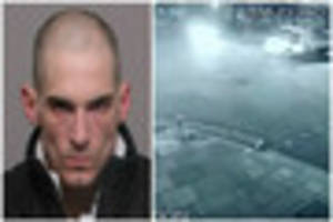 Face of dangerous driver who killed two friends in police chase...