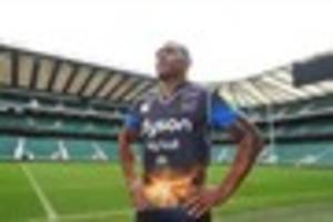 new bath rugby kit for the clash at twickenham to support help...