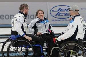 Wheelchair Curling: Strathaven's Aileen Neilson guides Scotland to world bronze