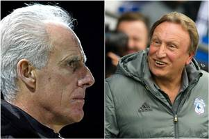 Ipswich Town boss Mick McCarthy knows his friend Neil Warnock would walk into another job if he left Cardiff City