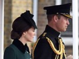 William is back by Kate's side after dancing weekend away