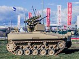 kalashnikov developing massive 20 ton drone tanks