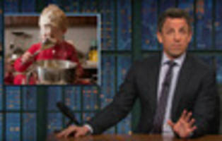 Seth Meyers Outraged By Trump's Proposed Budget Cuts: 'Your Heart Is So Small...'