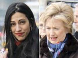 hillary clinton and huma abedin spend day the the salon