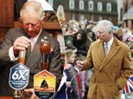 prince charles visits a brewery in wiltshire