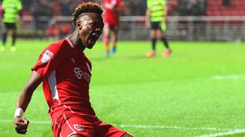 bristol city thump promotion hopefuls huddersfield