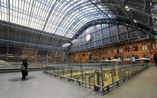 all aboard! st pancras becomes st patrick's international in irish makeover