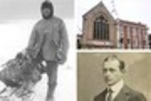 on this day: captain scott raises funds for antartic expedition...
