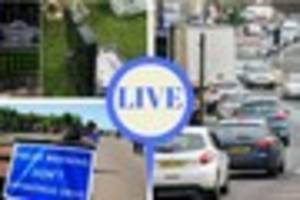 LIVE:Bath grave tribute to be removed, man drove five times over...