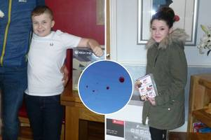 how balloons set off on christmas day led to seriously ill children receiving special gifts