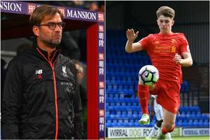 Jurgen Klopp hails Liverpool FC and Wales starlet Ben Woodburn as a wonderful kid who will deal well with added pressure