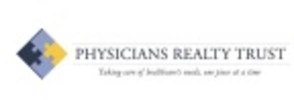 Physicians Realty Trust Declares Quarterly Cash Dividend and Announces Date for First Quarter 2017 Earnings Release and Conference Call