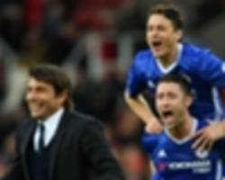 conte: chelsea need 21 points to clinch premier league title