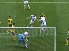 the incredible moment arsenal's defence fell apart
