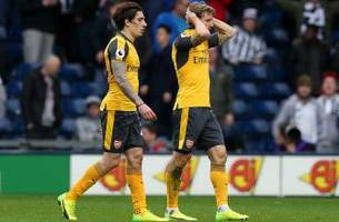 ailing arsenal loses for fourth time in five epl games