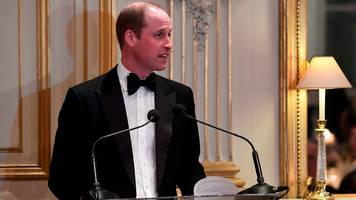 Prince William delivers message to France from Queen