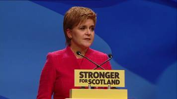 SNP's Nicola Sturgeon: 'PM has time to think again on vote date'