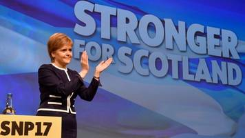 Sturgeon: Holyrood's will 'must and will prevail'