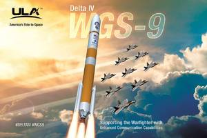 Watch a Delta IV rocket launch a communications satellite for the military tonight
