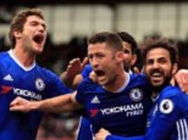 chelsea news: gary cahill's late goal seals victory