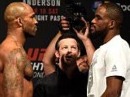 UFC London fight night 2017 LIVE: Manuwa v Anderson