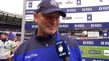 Six Nations 2017: Scotland coach Vern Cotter's emotional farewell