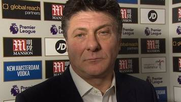 crystal palace 1-0 watford: walter mazzarri says watford did not deserve to lose