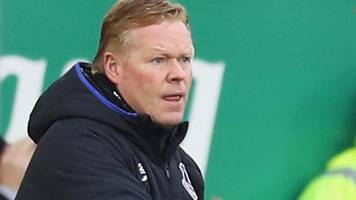 everton 4-0 hull city: ronald koeman pleased with 'good run' of results
