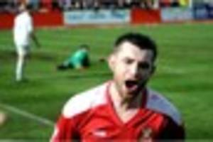 Tamworth FC 1 Gainsborough Trinity 0 - Birthday boy Newton seals...