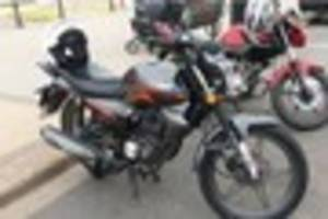 appeal for sightings after motorbike stolen from outside grimsby...