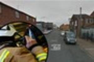 Firefighters rescue man stuck in lift in Grimsby