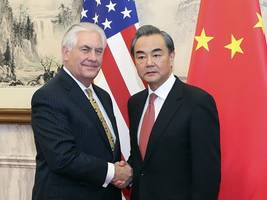 Tension as Rex Tillerson brings tough North Korea stance to China